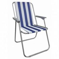 Кресло раскладное уличное для отдыха и туризма 52х48х76см Stenson Радуга (E05088)