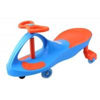 Смарткар (Smartcar) с пластиковыми колёсами (SM-BP-1) Сине-оранжевый