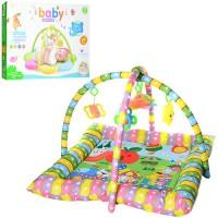 Детский (игровой) развивающий коврик для ползания ребенка 80х80 см OSPORT (PE916)