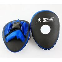 Лапы боксерские (для бокса) гнутые из кожвинила ОSPORT (FI-0123)