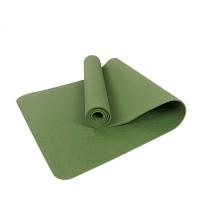 Коврик для йоги и фитнеса (йога мат) однослойный OSPORT TPE 182х61см толщина 8мм (MS 0616) зеленый