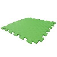 Детский игровой коврик-пазл (мат татами, ласточкин хвост) OSPORT 50cм х 50cм толщина 10мм (FI-0009) Зеленый