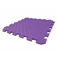 Детский игровой коврик-пазл (мат татами, ласточкин хвост) OSPORT 50cм х 50cм толщина 10мм (FI-0009) Фиолетовый