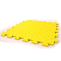 Детский игровой коврик-пазл (мат татами, ласточкин хвост) OSPORT 50cм х 50cм толщина 10мм (FI-0009) Желтый