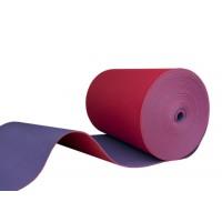 Коврик (каремат, матрас) для спорта и туризма на отрез цветной OSPORT 10мм (FI-0023) Красно-фиолетовый