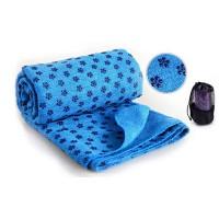 Коврик – полотенце для йоги OSPORT Yoga mat towel Синий (FI-4938_BU)