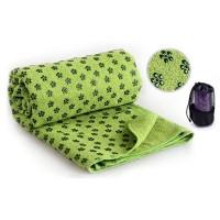 Коврик – полотенце для йоги OSPORT Yoga mat towel Зеленый (FI-4938_GN)