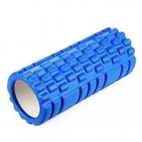 Ролик (валик) для йоги массажный OSPORT (MS-0857) Синий