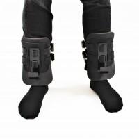 Гравитационные ботинки (инверсионные крюки для турника) тренажер для спины и пресса OSPORT Lite Black (OF-0009)