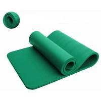 Коврик для йоги и фитнеса NBR (йога мат, каремат спортивный) OSPORT Mat Pro 1.2см (MS 2608-18) Зеленый
