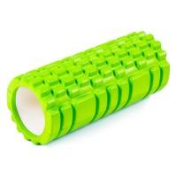 Ролик (валик) для йоги массажный OSPORT (MS-0857) Зеленый