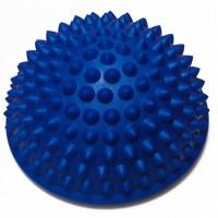 Полусфера массажная балансировочная (подушка массажер для ног и стоп) OSPORT (OF-0059) Синий