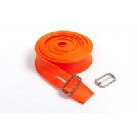 Жгут эспандер резиновый спортивный (резинка для подтягивания, турника) 2500x35 мм OSPORT (MS 2003) Оранжевый