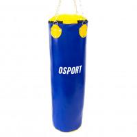 Боксерская груша для бокса (боксерский мешок) ПВХ OSPORT Lite 1м (OF-0050) Синяя
