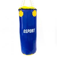 Боксерская груша для бокса детская (боксерский мешок) ПВХ OSPORT Lite 0.8м (OF-0049) Синяя