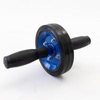 Колесо для пресса (ролик гимнастический) металлический на подшипнике усиленный OSPORT Pro (FI-0104)