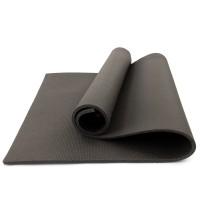 Коврик для фитнеса, йоги и спорта (каремат, мат спортивный) FitUp Lite 10мм (F-00013) Серый
