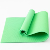 Коврик для фитнеса, йоги и спорта (каремат, мат спортивный) FitUp Lite 10мм (F-00013) Салатовый