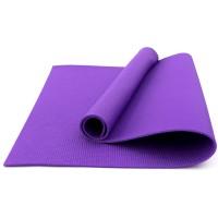 Коврик для фитнеса, йоги и спорта (каремат, мат спортивный) FitUp Lite 5мм (F-00008) Фиолетовый