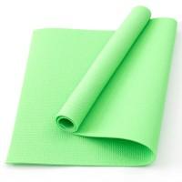 Коврик для фитнеса, йоги и спорта (каремат, мат спортивный) FitUp Lite 5мм (F-00008) Салатовый