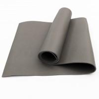 Коврик для фитнеса, йоги и спорта (каремат, мат спортивный) FitUp Lite 5мм (F-00008) Серый
