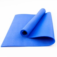 Коврик для фитнеса, йоги и спорта (каремат, мат спортивный) FitUp Lite 5мм (F-00008) Синий