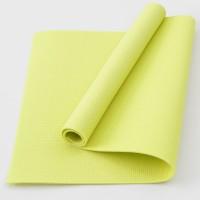 Коврик для фитнеса, йоги и спорта (каремат, мат спортивный) FitUp Lite 5мм (F-00008) Желтый