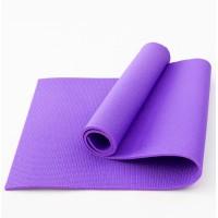 Коврик для фитнеса, йоги и спорта (каремат, мат спортивный) FitUp Lite 8мм (F-00011) Фиолетовый