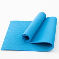 Коврик для фитнеса, йоги и спорта (каремат, мат спортивный) FitUp Lite 8мм (F-00011) Голубой