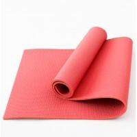 Коврик для фитнеса, йоги и спорта (каремат, мат спортивный) FitUp Lite 8мм (F-00011) Красный