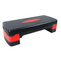 Степ платформа двухступенчатая (подставка доска-степ тренажер для аэробики, фитнеса) OSPORT (MS 0536-1) Черно-красный