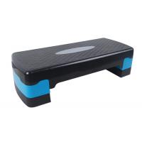 Степ платформа двухступенчатая (подставка доска-степ тренажер для аэробики, фитнеса) OSPORT (MS 0536-1) Черно-синий