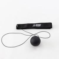 Тренажер fight ball (файт бол) мячик для бокса на резинке OSPORT Lite Plus (OF-0007) Черный
