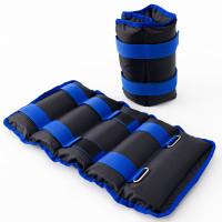 Утяжелители для ног и рук (манжеты для фитнеса и бега) OSPORT Lite Comfort 2шт по 2.5кг (FI-0118)