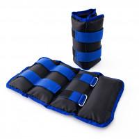 Утяжелители для ног и рук (манжеты для фитнеса и бега) OSPORT Lite Comfort 2шт по 2кг (FI-0119)