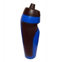 Бутылка (бутылочка) для воды и напитков спортивная 600мл Profi (MS 1816) Черно-голубая