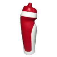 Бутылка (бутылочка) для воды и напитков спортивная 600мл Profi (MS 1816) Бело-красный