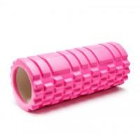 Ролик (валик) для йоги массажный OSPORT (MS-0857) Розовый