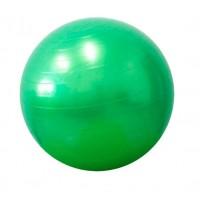 Детский мяч для фитнеса (фитбол) 55 см (глянец, в пакете) Profiball (MS 0381) Салатовый