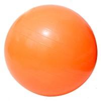 Детский мяч для фитнеса (фитбол) 55 см (глянец, в пакете) Profiball (MS 0381) Оранжевый