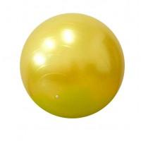 Детский мяч для фитнеса (фитбол) 55 см (глянец, в пакете) Profiball (MS 0381) Желтый
