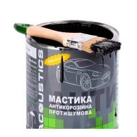 Мастика противошумная для авто битумно каучуковая Acoustics 2кг (ac-mastika-2)