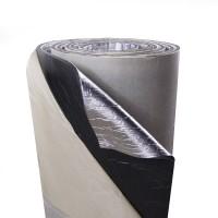 Тепло-шумоизоляция фольгированная с липким слоем SoundProOFF ППЭ 3мм (sp-500-3-fl)