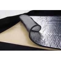 Тепло-шумоизоляция из вспененного каучука с фольгой 750х500х10мм SoundProOFF (sp-fleх-sh-10-fl)